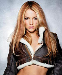 britney spears brown top Femme Fatale   Not Britney's Own Invention