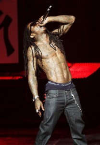 lil wayne Weezy Treats New Orleans Fans to Surprises at Hornets Arena