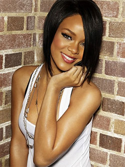 rihanna brick background Rihanna Stirs Up Controversy with 'Man Down' Music Video