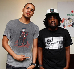 wale j cole nba all star weekend Wale and J. Cole Kick off NBA All Star Weekend