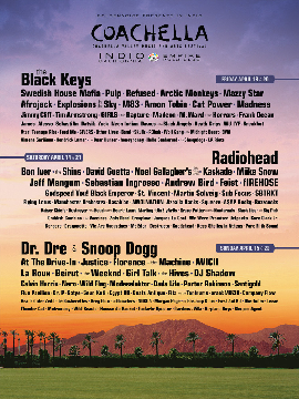 Coachella Music Festival Mini Coachella Music Festival Lineup Announced