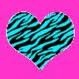 stripe heart