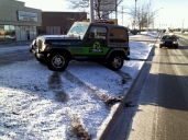 My Jeep & black ice...